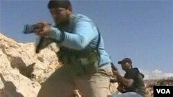 Sirijski pobunjenici u akciji