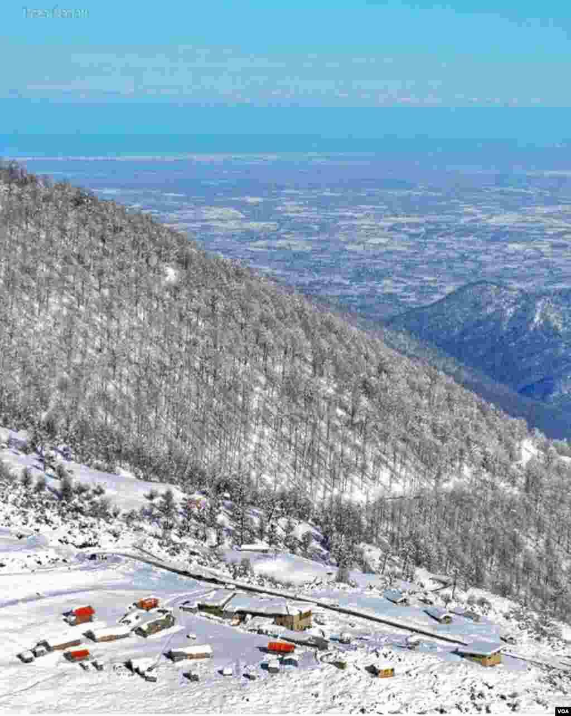 نمایی از کوههای ماسال گيلان عکس: آرشام (ارسالی شما)