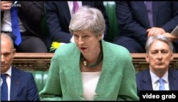Theresa May. (Foto: videograb)