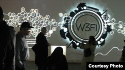"""W3FI"" exhibit at Artisphere"