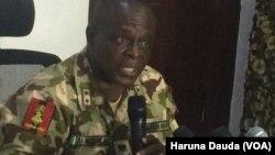 Manjo Janar Rogers Nicholas kwamandan Operation Lafiya Dole dake Maiduguri