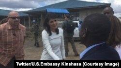 Ziara ya Balozi Nikki Haley DRC