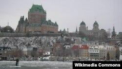 Vue sur Quebec, au Canada, le 15 mars 2016.