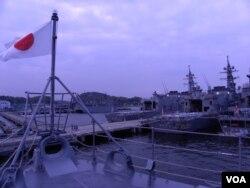 Nhật Bản tham gia tập trận cùng với Mỹ trên Biển Đông.