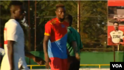 Ba Léopards ya RDC na Ba Harambee Stars ya Kenya na match ya préparation na Espagne, 15 juin 2019.