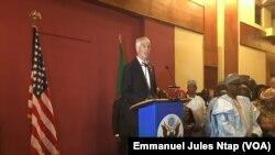 Peter Henry Barlerin, ambassadeur des États-Unis au Cameroun, Yaoundé, le 3 juillet 2018 (VOA/Emmanuel Jules Ntap )