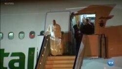 Papa já está em Moçambique