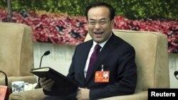 中国直辖市重庆市委书记孙政才(资料照片)