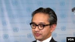 Menteri Luar Negeri Marti Natalegawa (26/9)