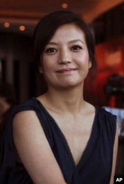 赵薇在电影《赤壁》的记者会上(2009年1月6日)