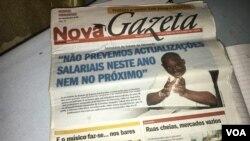 Jornal Nova Gazeta (Foto de Arquivo)