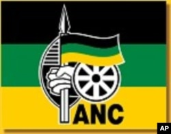 South Africa ruling party flag.