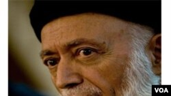 Burhanuddin Rabbani, ex presidente afgano, es el director del nuevo consejo para la paz.