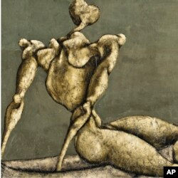 Bahman Mohasses's 'Untitled.'