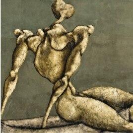Bahman Mohasses's 'Untitled.'