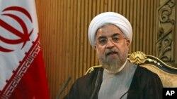 Presiden Iran Hassan Rouhani Selasa (21/4) menyerukan gencatan senjata di Yaman (foto: dok).