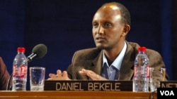 Daniel Bekele, umuyobozi w'ishirahamwe, Amnesty International, mu karere ka Afrika