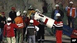 نجات تمامی معدن چیان گیرمانده در چیلی