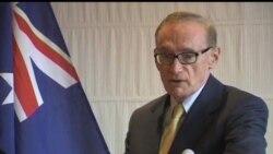 2012-05-15 美國之音視頻新聞: 澳洲外長為美澳軍事關係辯護