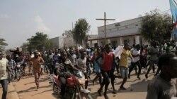 Des milliers de personnes se sont rassemblées ce matin à Kinshasa