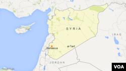 al-Tanf region, Syria