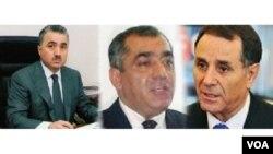 Zeynal Nağdəliyev, Əli Əsədov, Novruz Məmmədov