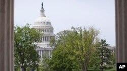 미국 워싱턴 DC의 의회 건물. (자료사진)