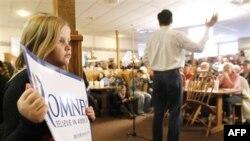 Praymeri sorğularında Mitt Romni öndə gedir
