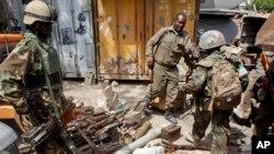 Tentara pasukan penjaga perdamaian Uni Afrika di Mogadishu, Somalia. (Foto: Dok)
