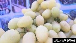 بخشی از حاصلات انگور هرات به پاکستان صادر می شود