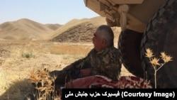 جنرال دوستم از چند هفته به اینسو عملیات نظامی را در شمال افغانستان رهبری می کرد
