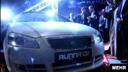 «رانا» یکی از خودروهای تولیدی ایران خوردو