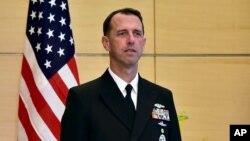 존 리처드슨 미 해군참모총장. (자료사진)
