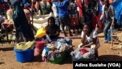 Mercado em Nampula, Moçambique