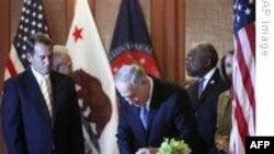 Obama Netanyahu ile Görüşüyor