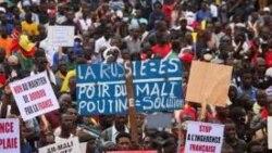 La police malienne a déguerpi des manifestants à l'aube