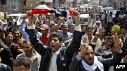 Các cuộc biểu tình chống chính quyền của Tổng Thống Ali Abdullah Saleh tại thủ đô Sanaa của Yemen đã bước sang ngày thứ ba