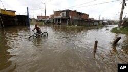 Cabinda: Centenas de pessoas afectadas por tempestades e chuva (foto de arquivo)