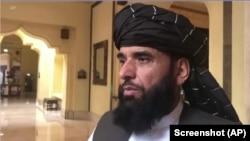 طالبان ترجمان سہیل شاھین (فائل فوٹو)