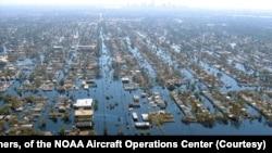 Затопленный Новый Орлеан