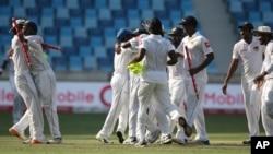 پی سی بی کے مطابق پاکستان اور سری لنکا کے درمیان ٹیسٹ سیریز اکتوبر میں شیڈول ہے۔ (فائل فوٹو)