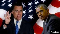 Barack Obama y Mitt Romney tuvieron experiencias diferentes en las primarias de Arkansas y Kentucky.