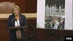 عکس آرشیوی از ایلینا راس لتینن نماینده جمهوریخواه ایالت فلوریدا در مجلس نمایندگان آمریکا