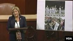 La representante a la Cámara de EE.UU., Ileana Ros Lethinen, es la presidenta de la Comisión de Relaciones Exteriores.