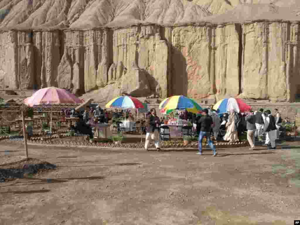 افتتاح یک پارک تفریحی اطفال و زنان در بامیان