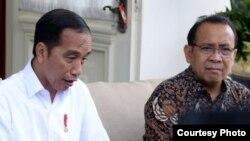 Presiden Jokowi meminta kepada semua pihak untuk menjaga kerahasiaan data pasien virus korona, di Istana Merdeka, Jakarta, Selasa (3/3) (Biro Setpres)
