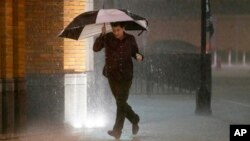 Houston con posibilidad de mal tiempo, esperan que inundaciones afecten algunas vías de la ciudad.