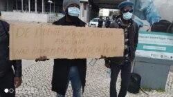 Doentes em Portugal protestam contra ordem de regressarem a Angola - 2:11
