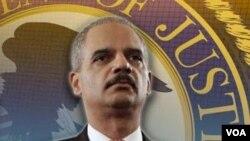 Jaksa Agung Amerika Eric Holder menyambut baik laporan FBI yang menyebut tingkat kejahatan di Amerika terus menurun.