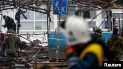 Mesto nove eksplozije u ruskom gradu Volgogradu